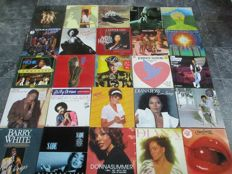 Now This Is Soul ! Great Lot of  28 Vinyl records With Famous Soul Artists ( 1x3LP, 1x2LP, 19x1LP, 4x12inch maxi)