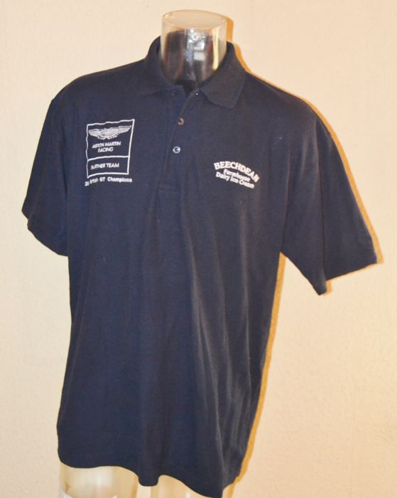 Aston Martin Racing > Beechdean 2014 team and driver polo shirt (M)