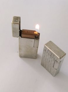 2 silver plated lighters MYON