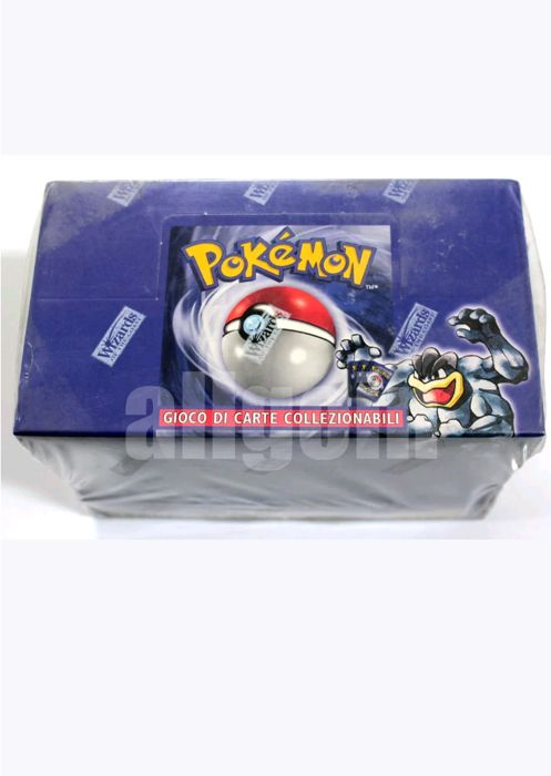 Pokemon SET base 8 deck 2000 wizard SEALED