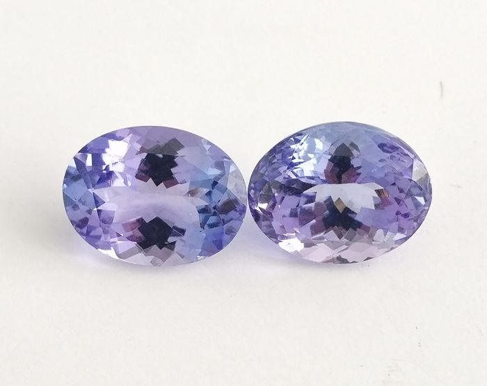 Tanzanite Violetish Blue 10.63 ct