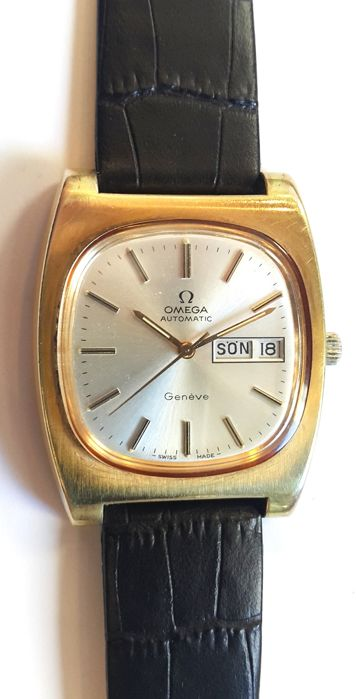 Omega - Geneve Automatic - Day/Date - Heren - 1969s