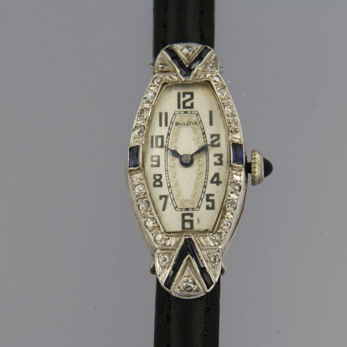 Bulova - art deco  - Dames - 1901-1949