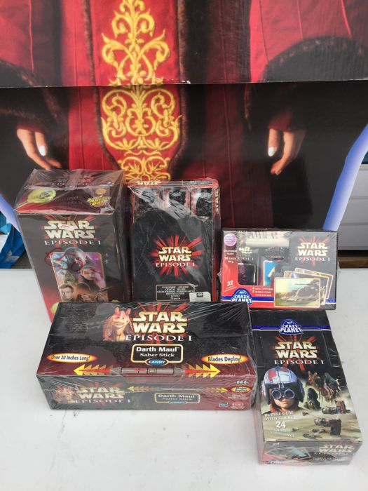 Star Wars - Candy lot - unopened boxes