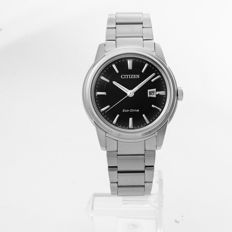 Citizen - Stainless-Steel Eco-Drive Watch - AW1120-59E - Heren - 2011-heden