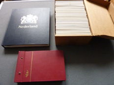 The Netherlands 1852/1998 - Collection of stamps, blocks, FDC and covers in 2 albums and box.