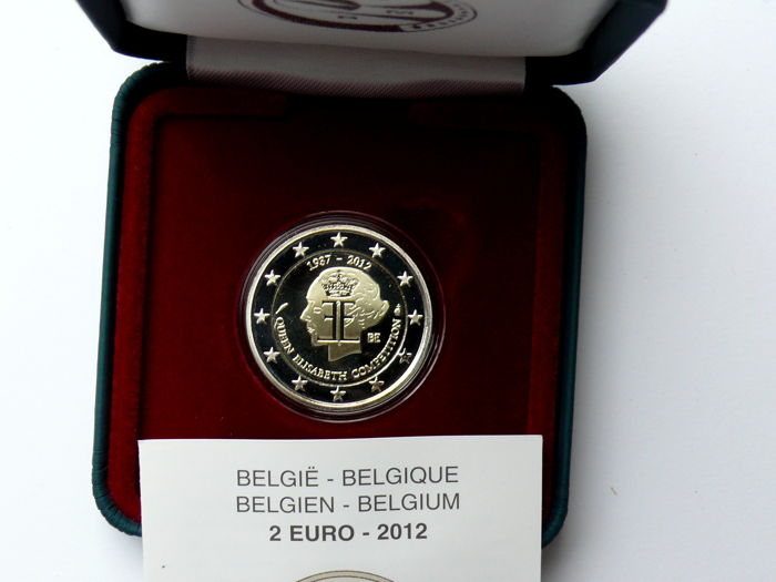 Belgium 2 Euro 2009 I 2009 Ii 2012 And 2013 4 Different Pieces