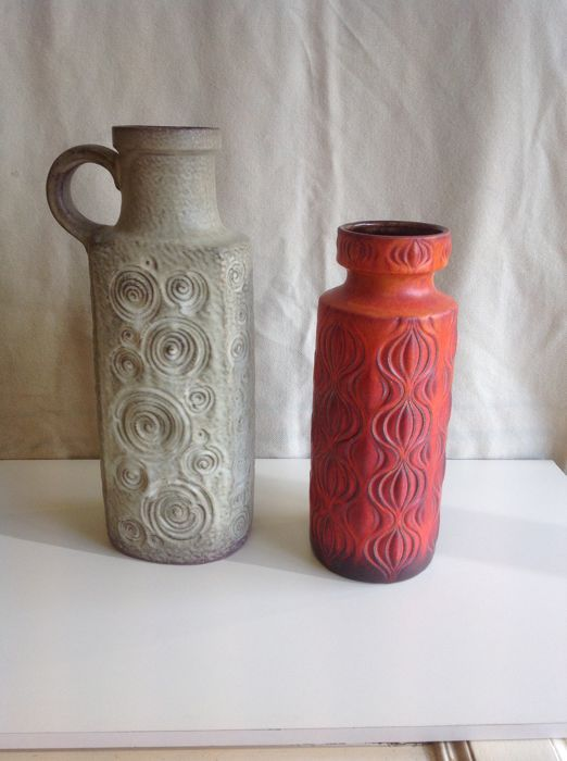 Pair of Large Ceramic Vases Germany