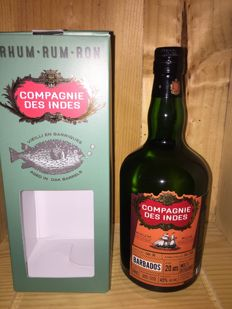 1 Bottle of Rhum Compagnie des Indes Barbados - aged 20 years - 70cl & 45%