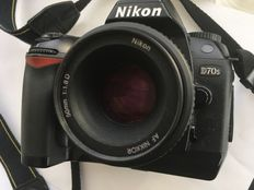 NIKON D70S with 50 mm objective