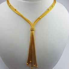 22 Ct Gold Necklace  Length:46cm,  Total Weight:40.30g