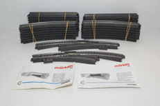 Märklin H0 - 188/172/130/24671/24672/74460/74490 - Tracks - C-Rails with digital switches