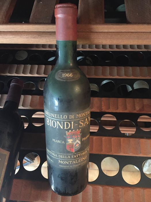 1966 Biondi Santi, Brunello di Montalcino - 1 bottle(72cl)