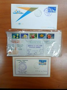 Netherlands Antilles 1957/1974 - Batch of First Day Covers