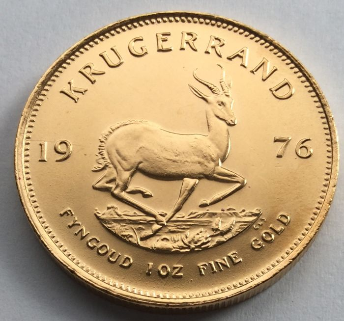 South Africa - Krugerrand 1976 - 1 oz gold