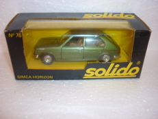 Set of 10 Solido 1/43 new in original boxes