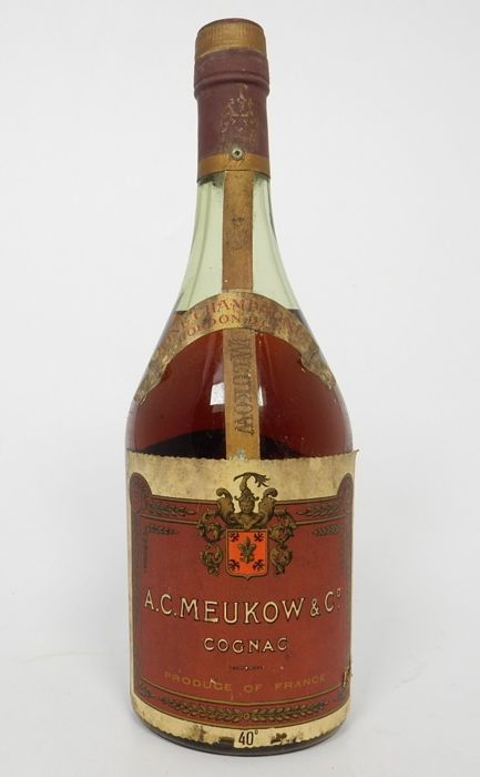 Meukow Cordon d' Or Cognac from 1950s or 1960s