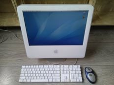 "Apple iMac G5/1.8 17"" (ALS) - model A1058 - 1.8Ghz G5 CPU, 1GB RAM, 500GB HDD, CD-RW, Apple Keyboard / Logitech wireless mouse"