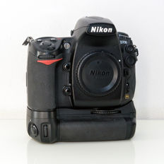 Nikon D700 camera body with battery grip