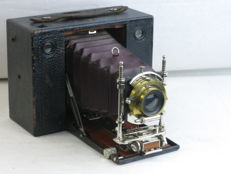 KODAK n.3 CARTRIDGE, model E, with red bellows,circa 1903. EXC+