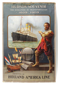 Anonymous - Holland America Line, Hudson Souvenir - 1909