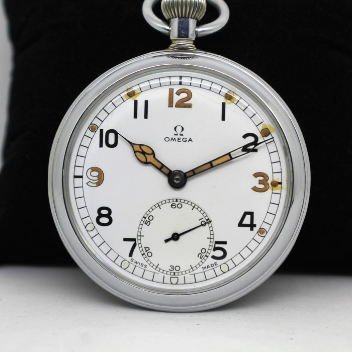23760a59a30 Omega - Pocket Watch British Military G.S.T.P Y10673 - Homem - Ano-1941