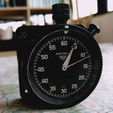 HEUER AUTORALLY Stopwatch Rally / Race dash mounted Timer.