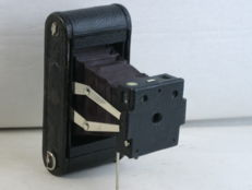 KODAK n.1A Folding Pocket, with red bellows,circa 1905. EXC+