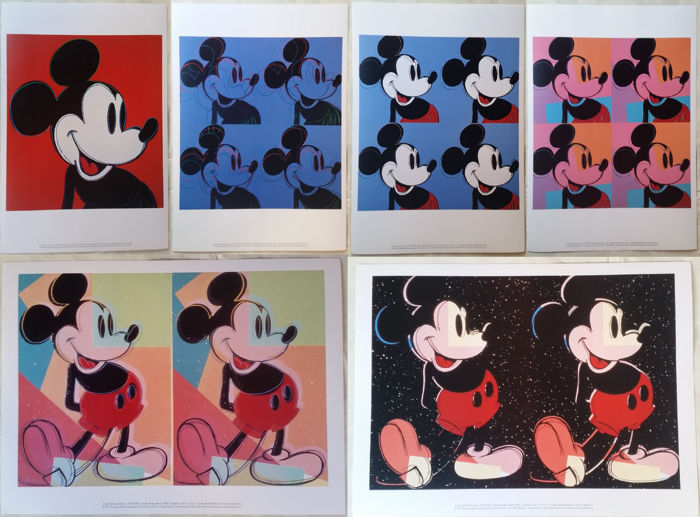 Andy Warhol (after) - Mickey Mouse