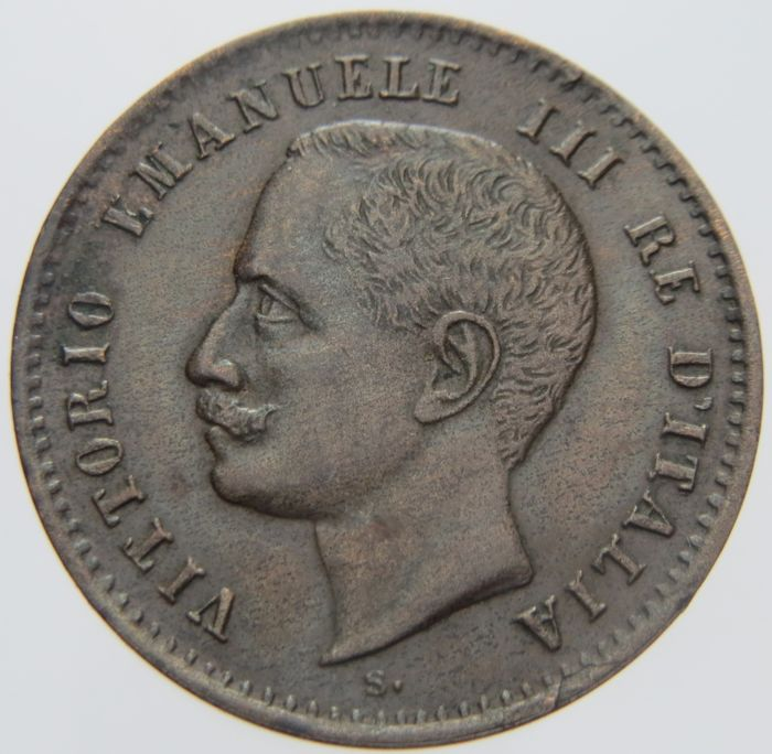 Kingdom of Italy - 2 Cent, 1907 - Vittorio Emanuele III