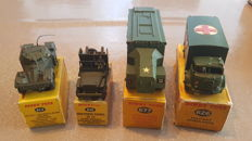 Dinky Toys - lot of 4 military vehicles