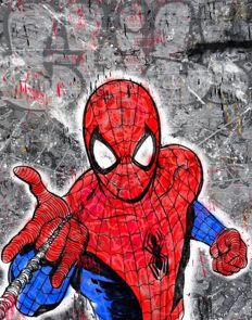 CRISP - Spiderman Giclee - Signed and numbered - (2017)
