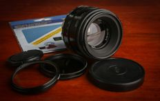"""The lens """"Helios-44-2"""". The most popular and favorite lens for digital cameras"""