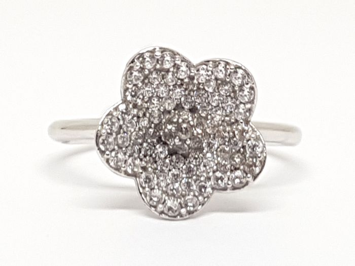 Diamond Cluster Ring 1,00ct.