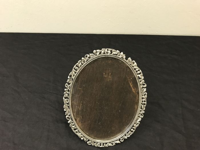 Silver decorated photo frame - The Netherlands - ca. 1900