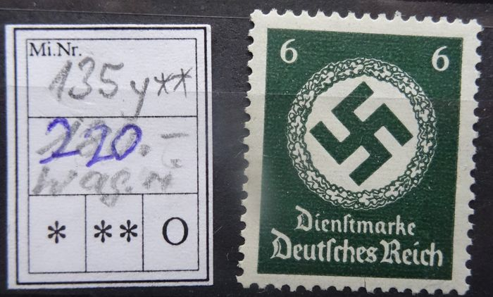 German Reich 19231944 Official And Military Post Offical 8688