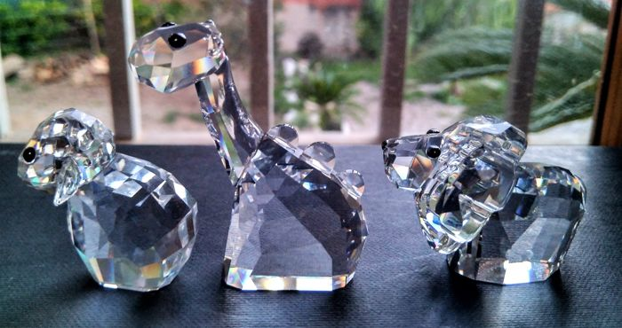 Swarovski - Lovelots pioneers - Lion, Dinosaur and Sheep