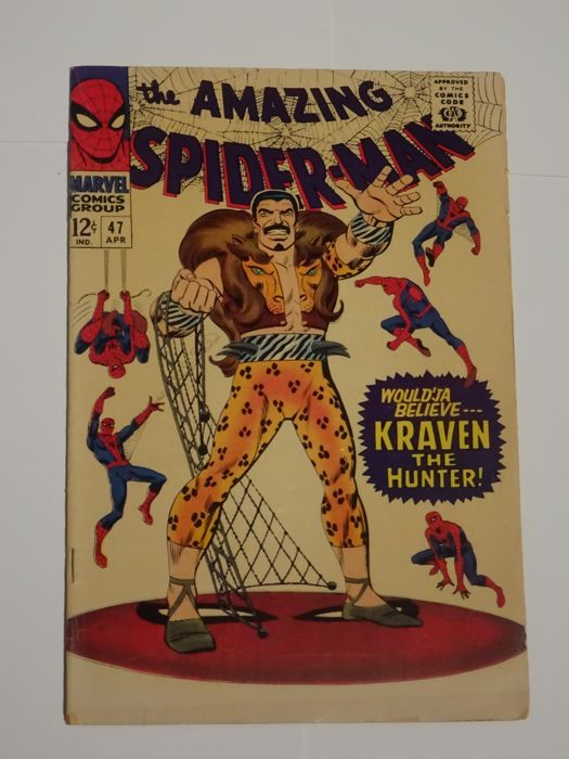 Amazing Spider-Man #47 - Marvel Comics - (1966)