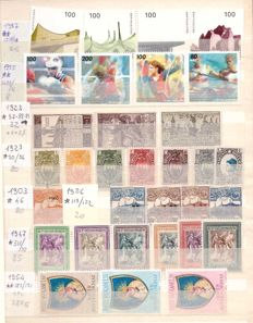 World - Selection of stamps from various countries (San Marino, Vatican City, Finland, Germany, Ireland)