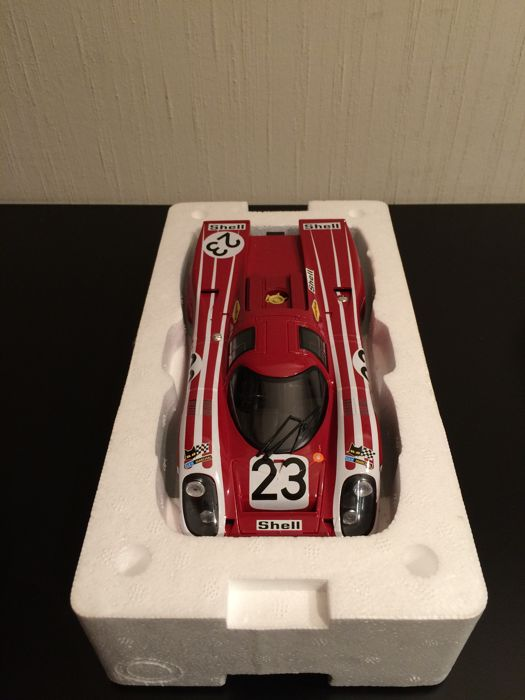 Norev-Porsche Museum - Scale 1/18 - Porsche 917 K #23 - Winner Le Mans 1970 with Hermann / Attwood