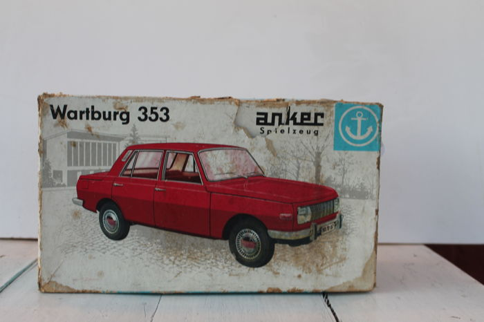 Anchor, DDR - Wartburg 353 in box