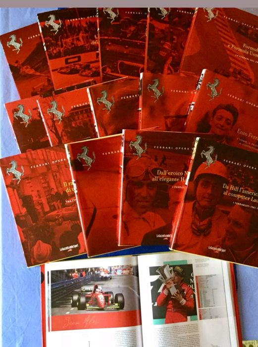 Ferrari, Opera Omnia of 15 volumes - limited edition - 2010 - like new - real photos