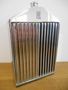 Rolls Royce - Whisky flask, Ruddspeed Ltd