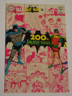 Batman #200 - DC Comics - High Grade! - (1968)