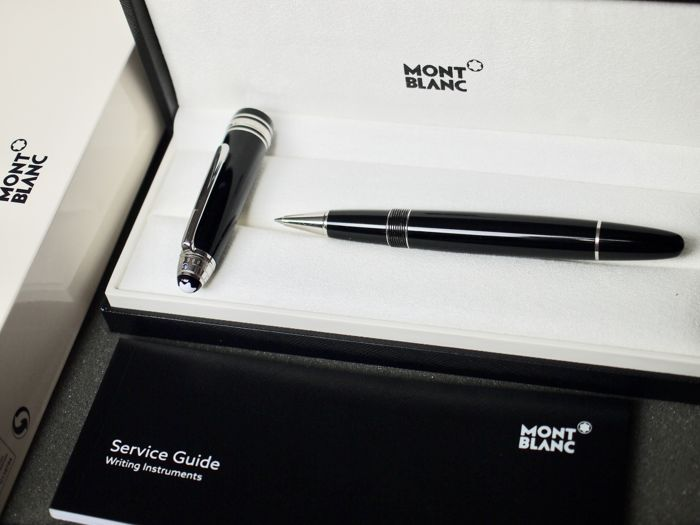 Montblanc Unicef limited edition Meisterstück 116072 LeGrand rollerball pen - features a genuine sapphire - new and unused - box and papers