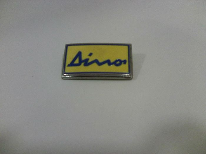 Dino 1970s emblem that was usually fixed on the front of Dino 246 gt, good condition