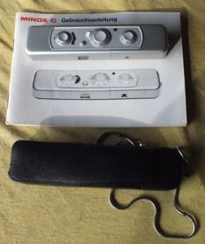 Minox C spy camera with bag + instructions