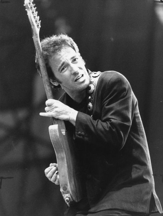 Unknown/Keith Dolney/Press Association - Bruce Springsteen, Wembley Stadium, London, UK, 1988