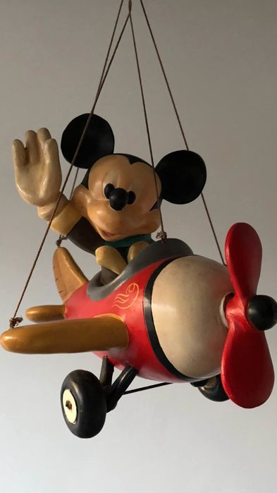 Disney - Figure - Mickey Mouse in Plane