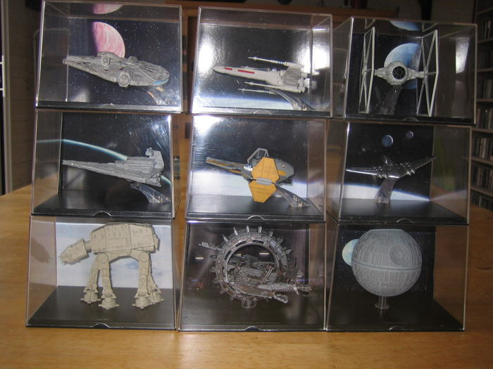 Star Wars Spacecraft - 9 of the most legendary Star Wars miniature metal